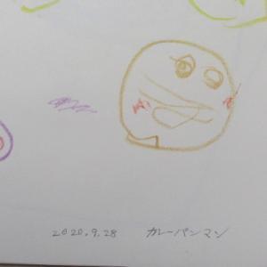 孫娘の描いた絵 (2歳2カ月)