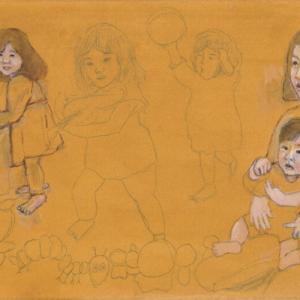 孫娘の肖像5-4 (2歳5カ月の肖像)
