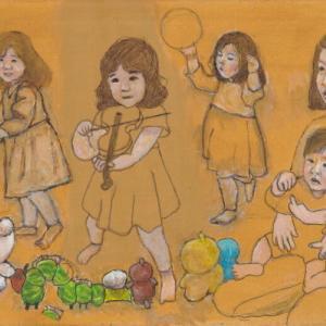 孫娘の肖像5-13 (2歳5カ月の肖像)