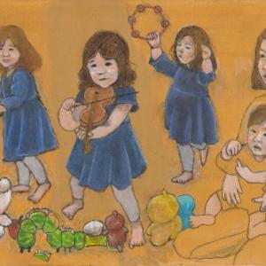 孫娘の肖像5-16 (2歳5カ月の肖像)