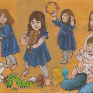 孫娘の肖像5-18 (2歳5カ月の肖像)