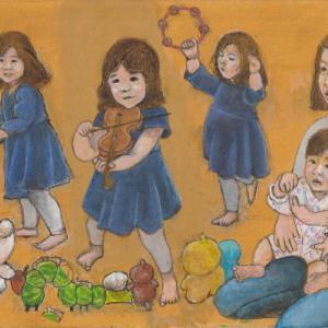 孫娘の肖像5-20 (2歳5カ月の肖像)