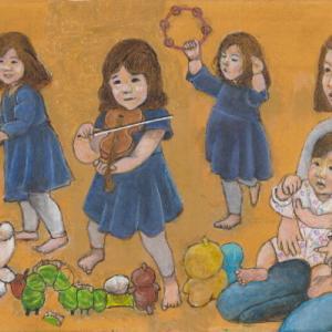 孫娘の肖像5-21 (2歳5カ月の肖像)