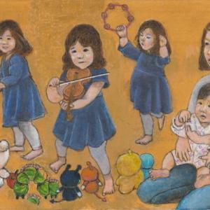 孫娘の肖像5-26 (2歳5カ月の肖像)