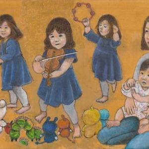 孫娘の肖像5-27 (2歳5カ月の肖像)