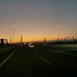 素敵な夕陽