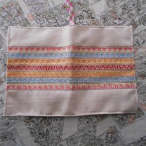 スェーデン刺繍のブックカバー