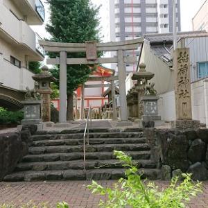 金山に行く途中で古渡稲荷神社を見つけました(#^.^#)