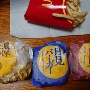 マクドナルドの月見バーガーを買いに行ってきました(#^.^#)