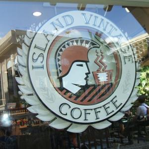 コーヒーの香りに誘われてアイランド・ヴィンテージ・コーヒーに