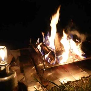 2週連続で夜の焚き火でびわ湖へ~