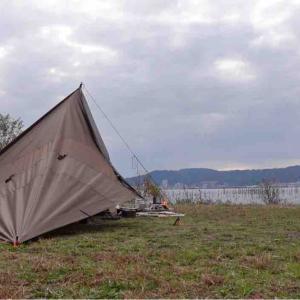 びわ湖でゆっくりディキャンプ♪