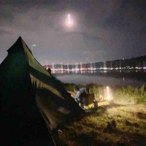 久々に夜のびわ湖へ、、