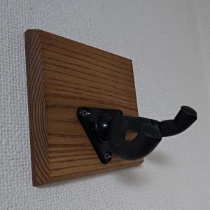 【賃貸OK】壁掛けギタースタンドのレビュー【AUX AYS31G ギターハンガー】