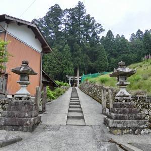 大皇器地祖神社 (東近江市君ケ畑町)