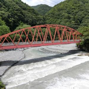 三峯川橋 (伊那市長谷黒河内・長谷市野瀬)