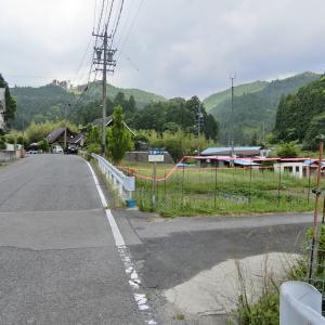 詳細不明の沈下橋 (豊田市平瀬町)