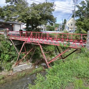 詳細不明の橋 (岡崎市米河内町本坂、日影)