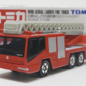 No.108 日野はしご付消防車(モリタ・スーパージャイロラダー)