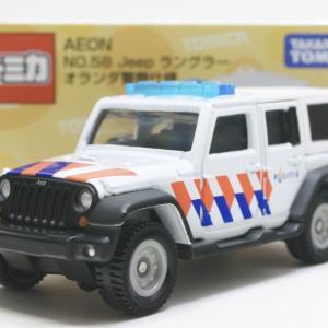 AEON No.58 Jeep ラングラー オランダ警察仕様