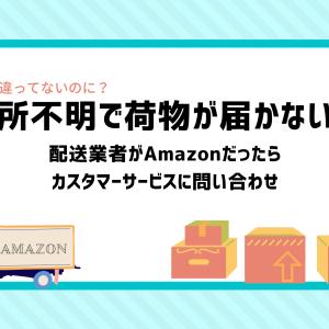 Amazonで住所が合っているのに住所不明?解決方法