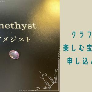 【宝石+解説冊子】クラファンの宝石を楽しむサロンに申し込んでみた