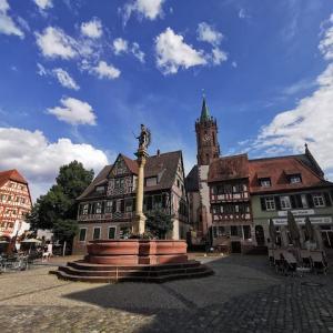 ドイツ南西部のかわいい町巡り