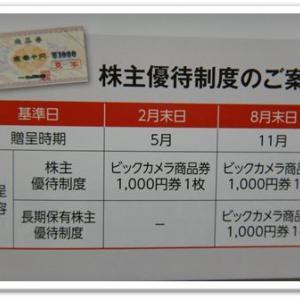 株主優待(BS11)