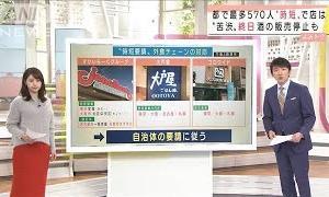 """""""時短要請""""でチェーン店は・・・ 酒の販売停止も(2020年11月27日)"""