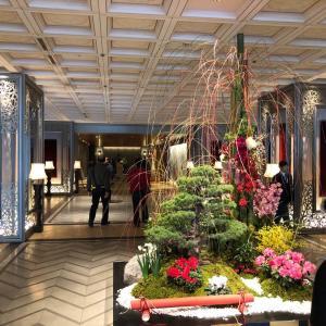 東京プリンスホテルのティーサロン ピカケでランチ。
