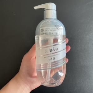 「&bio(アンドビオ)ピュアモイストシャンプー」を美容師が実際に使った評価レビュー【市販】