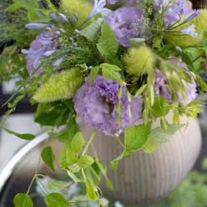 暑さに強い花で束ねるシャンペトルブーケレッスンのお知らせ