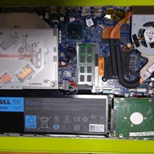 ノートPCのSSD化(その2)