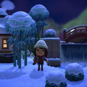 【あつ森】冬がやってきた!