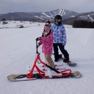 昨日は 雪山でした(^。^)