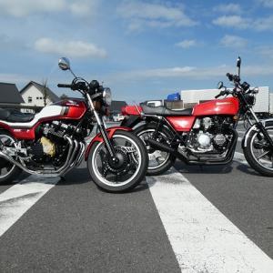 本日は 昼休みに ちょこっとバイクで・・・(^。^)