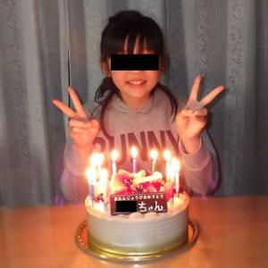 今日は 3番目の娘の誕生日でした・・・(^。^)