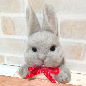 毛糸のウサギさん2