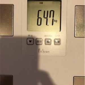 なんでか体重が一晩で-900g減った!〜ダイエット131日目