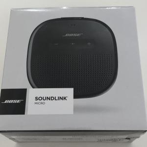 BOSE SOUNDLINK MICRO(ボーズ サウンドリンク マイクロ) Bluetoothスピーカー レビュー