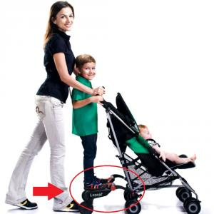 【バギーボード】ご存じですか?2人の子供とのお出掛けには必須アイテムです!