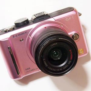 おじさんがピンクのカメラを購入してしまいました