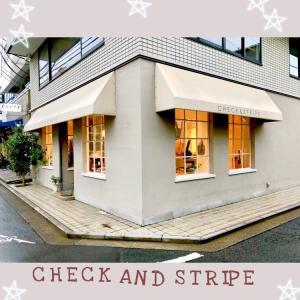【布買いの記録】CHECK AND STRIPE 吉祥寺店