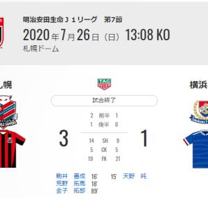 【試合後】明治安田生命J1リーグ第7節 VS コンサドーレ札幌