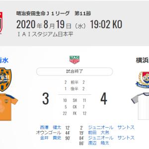 【試合後】明治安田生命J1リーグ VS 清水エスパルス