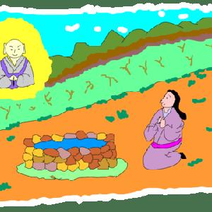 弘法の三つ井戸ーーー所沢市の伝説