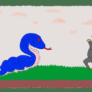 青い大蛇ーーー昔の話