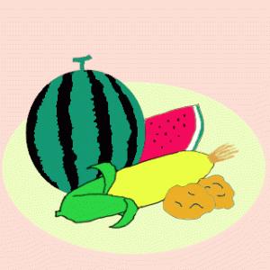 トウモロコシのおやつ