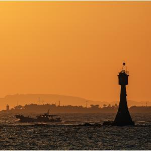 ~糸島半島の夕日~
