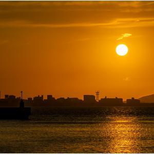 ~今津湾の夕日~